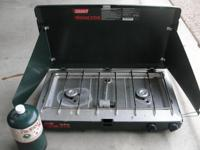Coleman 2 Burner Propane Camp Stove. Just in time for
