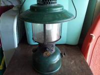 "VINTAGE COLEMAN 228E LANTERN ""SUNSHINE OF THE NIGHT"" If"