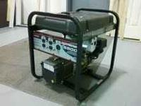 Coleman 5500 run watt generator. $265 Cash...NO WESTERN