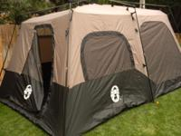 The Coleman 8 Person Instant Tent is an ideal tent for