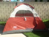 4 Person Tent. Producer: Coleman. Design: Rosewood.