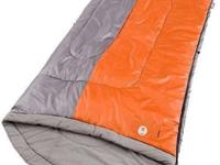 COLEMAN Sleeping Bag-- Big & & Tall 'Nimbus'-- Ideal