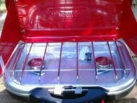 COLEMAN PROPANE STOVE NEW IN ORGINAL PACKING AND BOX