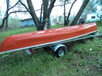 Coleman Canoe 15ft Red Great Condition! Get ready for