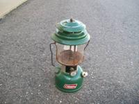Coleman lantern for sale needs new glass cheap at