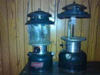 coleman lanterns need globes, best offer.  Location: