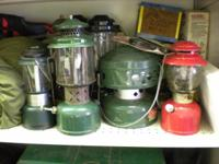 Description Coleman Lanterns Stoves Heaters Camping