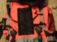 I have a black and red Coleman max rambling pack in