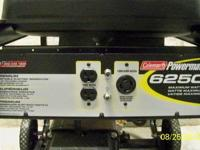 Portable electric generator, w/ 10 hp tecumseh engine,