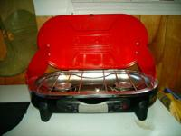 Brand new never used before coleman road trip cook