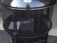 """Coleman Round Fireplace 5068 Series 28"""" Round... This"""