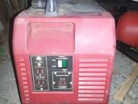 This is a great compact 1600 watt generator. Never had