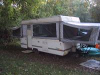 1989 Coleman Plantation Pop-up camper. This was the top