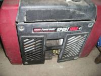 Campground approved Coleman Powermate 1850 Generator, 2