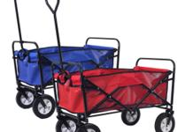 This Collapsible Wagon Is Ideal For Carrying Your