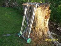 For sale is a grocery or utility cart that can be used
