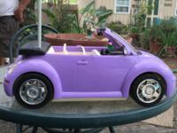Barbie Radio Control Volkswagen Beetle Convertible