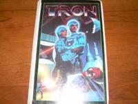 This is the original Tron movie on vhs in the plastic