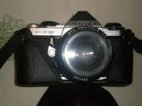 ANTIQUE: PENTAX ME SUPER 35 mm Film SLR Camera with 50