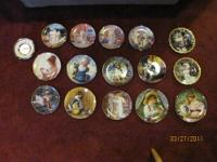 Selection of collectible plates by Sandra Kuck, Kathy
