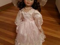 The porcelain dolls are in very good shape and have