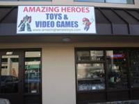 Amazing Heroes: Toys & Video Games