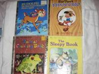 For sale are these vintage children's books which are