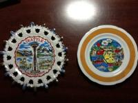 2 Collectible Wall Plates  1-British Columbia plate By