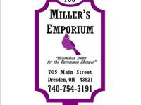 Miller's Emporium, found at 705 Key St., Dresden, Ohio