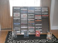 No longer use for cassettes.  Great collection of