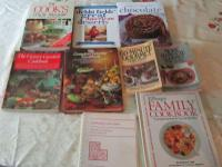 Collection of 9 Cookbooks (pictures) $10.00