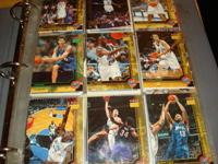 Huge Collection of Basketball Cards, All in Mint
