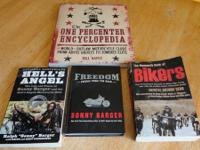 4 book collection.   One Percenter Encyclopedia by Bill