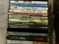 I have a small Collection of Good DVDs for sale You can