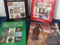For Sale is a group of 4 Sotheby Books -.  1. SOTHEBY'S