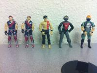 Very nice collection of GI Joes.  These are in