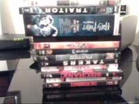 The movies I have are all in their original cases and