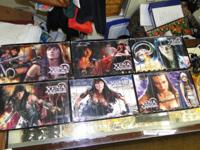 Collection Set of 6 Seasons Xena Warrior Princess on
