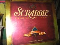 'Milton Bradley' 50th Anniversary Scrabble crossword
