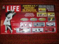 "Rare ""HO"" Collector Addition Life Magazine Train"
