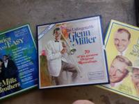 The Mills Brothers, 1979 box of 6 records Collectors