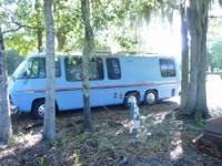 1976 GMC MOTOR HOME NEW MOTOR . TRANS. REF. AND