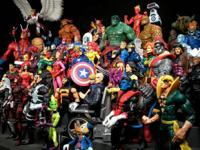 Products we have-Play Arts, Marvel Legends, DC