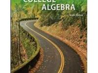 College Algebra Ninth edition, brand new(annotated