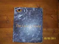 "Used Biology book. This is Fifth edition ""The Living"