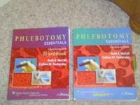 PHLEBOTOMY BOOK AND WORKBOOK $50 FOR BOTH LABRATORY
