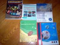 College Books from Gaston College. Some used last