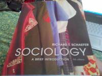 8th edition Richard T. Schaefer; Sociology (A Brief