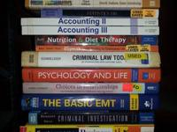 Assorted text books, make offer, text bryan  show