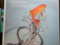 COLLEGE TEXTBOOKS - GENERAL PSYCHOLOGY BINDER-BOUND